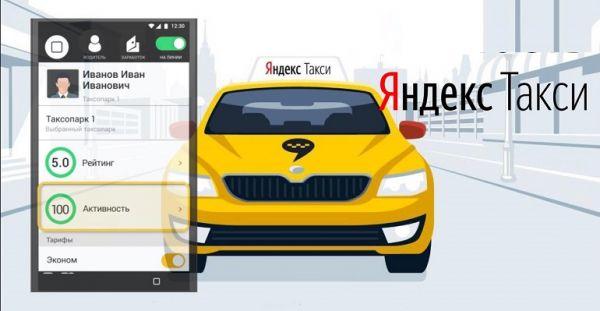 Рейтинг Яндекс такси