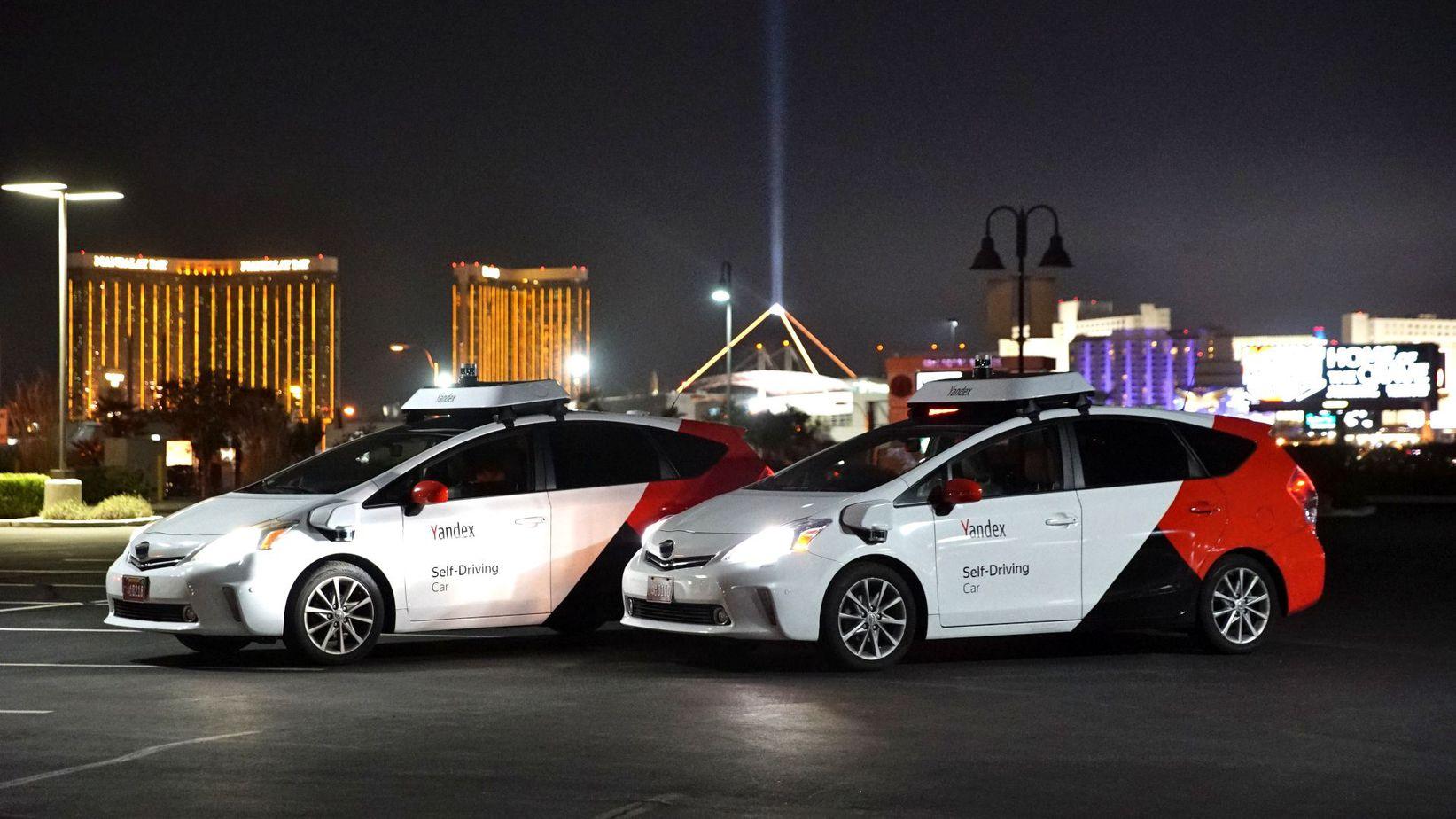Беспилотные автомобили Яндекс
